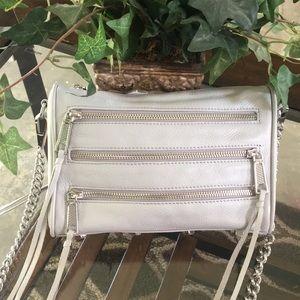 Rebecca Minkoff  5-zip Convertible Cross-Body Bag